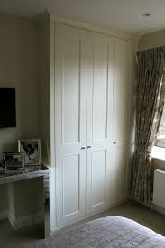 Bedroom Wall Cupboards Shaker Beaded Wardrobes With Coving Built Ins Pinterest