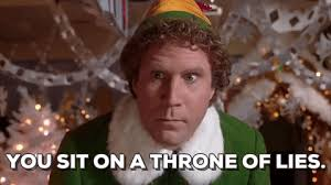 Elf Movie Meme - new party member tags will ferrell elf christmas movies you sit on
