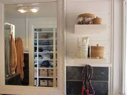 bathroom attractive refined wood built in small bathroom storage