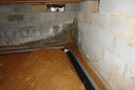 installation of the smart pipe interior drainage system