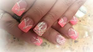 how to color v tips v french tips acrylic nails youtube