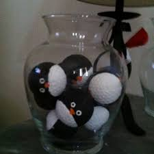 Christmas Ornaments Balls Crafts by 19 Best What To Do With Golf Balls Images On Pinterest Golf Ball