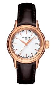 tissot ladies bracelet watches images Women 39 s tissot rose gold watches nordstrom jpg