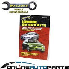 commodore vt vx vu vy vz workshop car repair service manual book