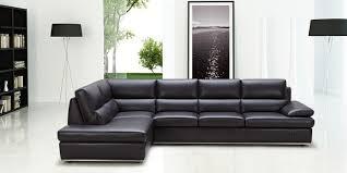 Black Leather Sleeper Sofa Sectional Sleeper Sofa Black Leather 2018 Modern Black