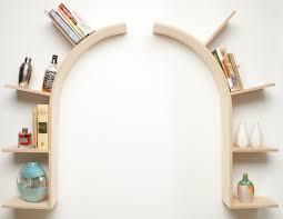 curved floating shelf as doorframe organization u0026 home decor