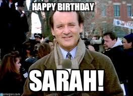 Bill Murray Memes - happy birthday groundhog day bill murray meme on memegen