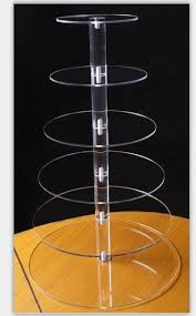 acrylic cake stands online shop event party supplies 6 layers acrylic cake stand