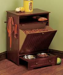 Food Storage Cabinet Stylish Dog Food Storage Ideas For Your Home