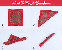 how to how to wear a bandana in 4 different styles