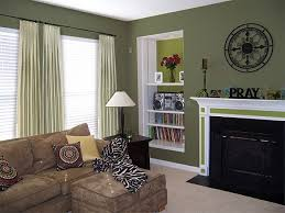 living room with sage green paint colors maybe a wall in the