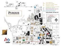 Boston University Campus Map Purdue Campus Map Purdue University Campus Map Indiana Usa