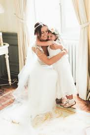 french chateau wedding with bride in anna campbell wedding dress