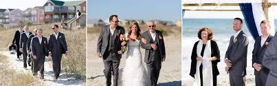 beautiful beach house wedding at holden beach nc