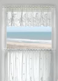 coastal seascape lace valance by heritage lace notice the ocean