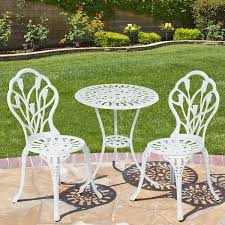 Aluminum Patio Furniture Set - best choice products patio furniture tulip design cast aluminum