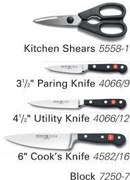 wusthof classic studio mini knife block set on sale free shipping us48