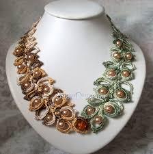 beads crochet necklace images Brown color bead crochet necklace adworks pk adworks pk jpg