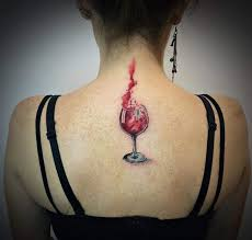 best 25 wine tattoo ideas on pinterest wine glass tattoos