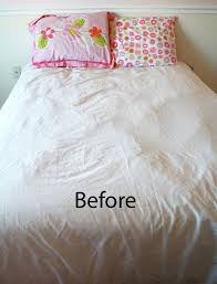 How To Make Duvet Covers Adding Some Colorful Stripes To A White Duvet Cover Ecbloom