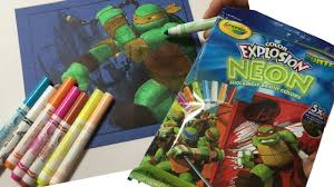 let u0027s color nickelodeon teenage mutant ninja turtles mikey