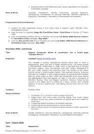 Resume Examples Volunteer Work by Resume Prashant Nanaware