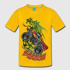 dragon monster truck shirt spreadshirt