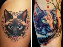 i used to be scared of cats top 10 cat tattoos tattoos