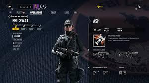 rainbow 6 siege fbi operator guide ash thermite castle pulse