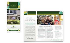 real estate brochure template word u0026 publisher