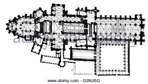 canterbury cathedral floor plan architecture of canterbury cathedral in kent england stock photo