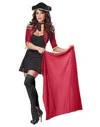 Bull Halloween Costume Spanish Matador Bull Fighter Fancy Dress Womens Size