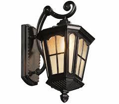 outdoor wall lantern lights antique rustic iron waterproof outdoor wall l vintage kerosene
