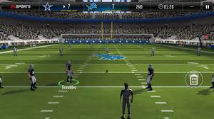 cowboys vs lions madden mobile 18 play pt 1