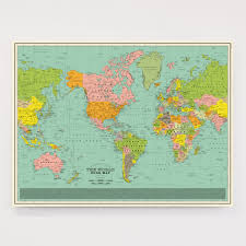 Map Of The World Art by World Song Map Classic Edition U2013 Dorothy
