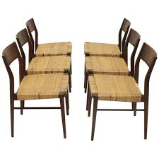 Birch Dining Chairs Six 1960s Model 351 Dining Chairs By Georg Leowald For Wilkhahn