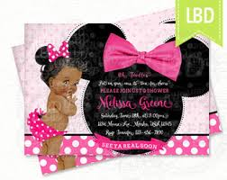 minnie mouse baby shower ideas minnie mouse baby shower invitations cloveranddot