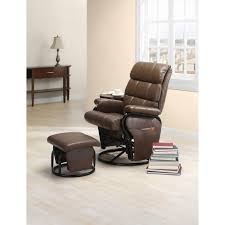 swivel chair with ottoman essential home dunhill swivel glider with ottoman