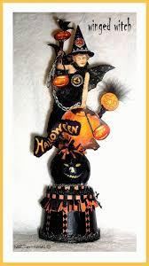 witch halloween crafts 1202 best halloween ornies images on pinterest vintage halloween