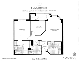 sample floor plans with dimensions senior living floor plans blakehurst community towson maryland