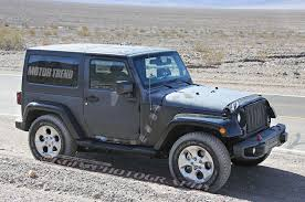 jeep wrangler grey 2017 we hear next gen jeep wrangler to stay true to its roots