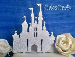 cinderella castle cake topper glitter acrylic disney princess castle birthday wedding cake