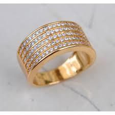 diamond studded diamond studded 18k gold ring