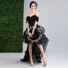 black dinner dress prom wedding gown rb0088 clothes for