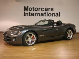 2009 dodge viper srt 10 convertible