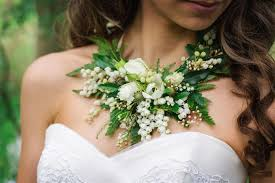 flower necklace wedding images Lush spring boho vintage wedding ideas pinterest fresh flowers jpg