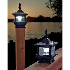 Solar Post Lights Outdoor by Choices Of Solar Deck Lights With Stunning Design Amazing Home