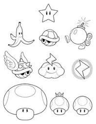 free printable mario coloring pages kids mario party