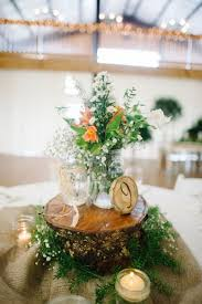 Log Centerpiece Ideas by 100 Country Rustic Wedding Centerpiece Ideas Country Wedding