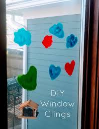 diy window clings the domestic
